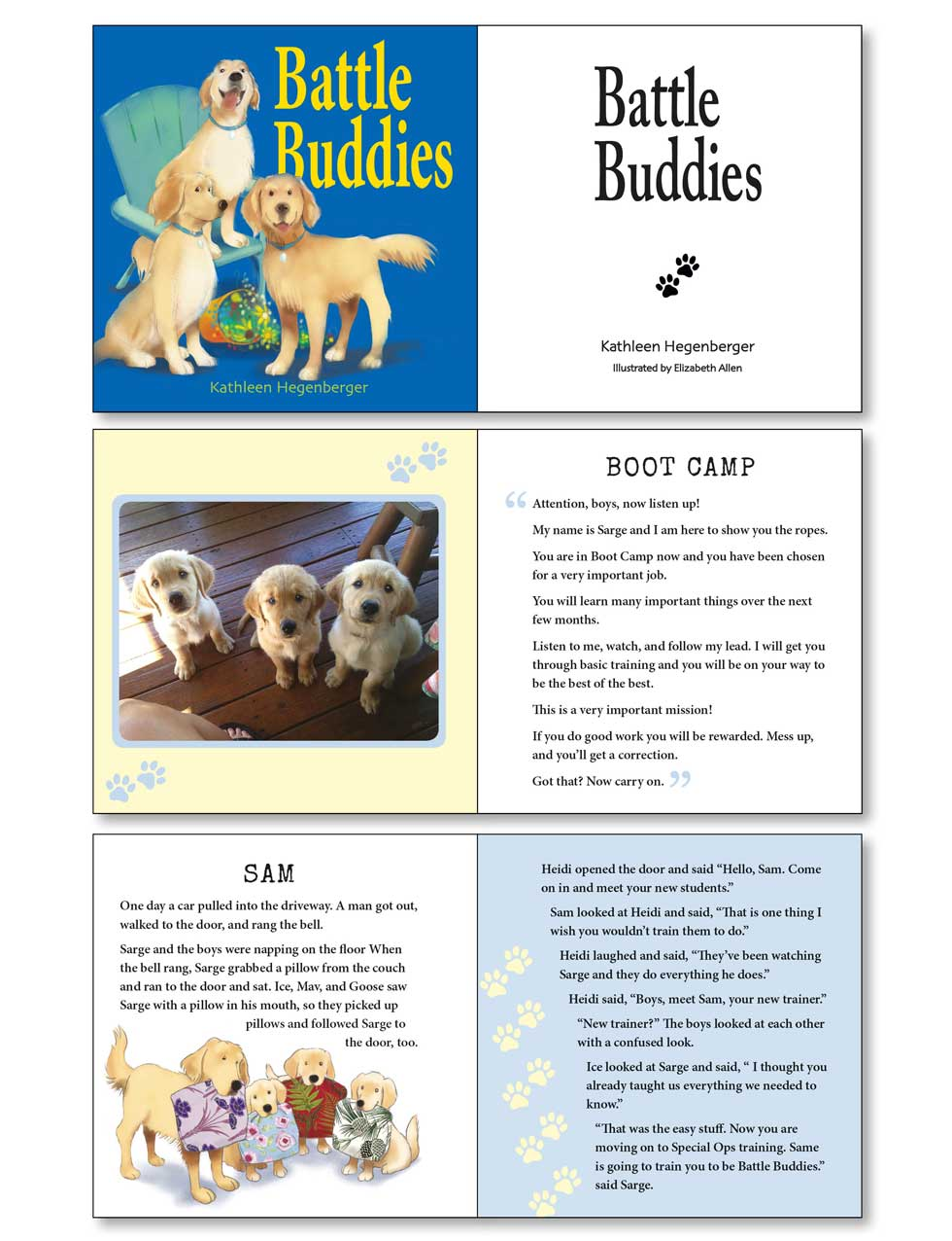Wordzworth children's book design example