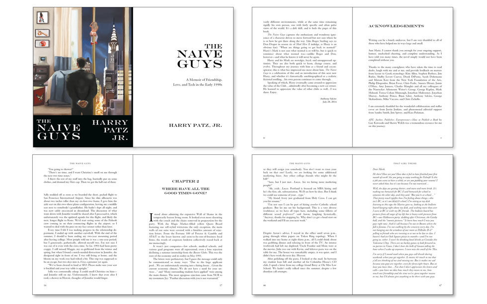 Wordzworth fiction book design example